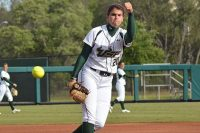 Lefty Erica Nunn knew from a young age she was coming to the University of South Florida.