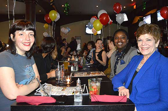 Erica Kelly, Teneile Warren and Jo Altilia of Literature for Life