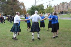 Scottish dancers perform at the Don Mills Street Festival.