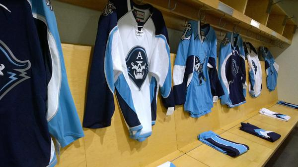 Milwaukee Admirals new jerseys for the 2015-2016 AHL season.