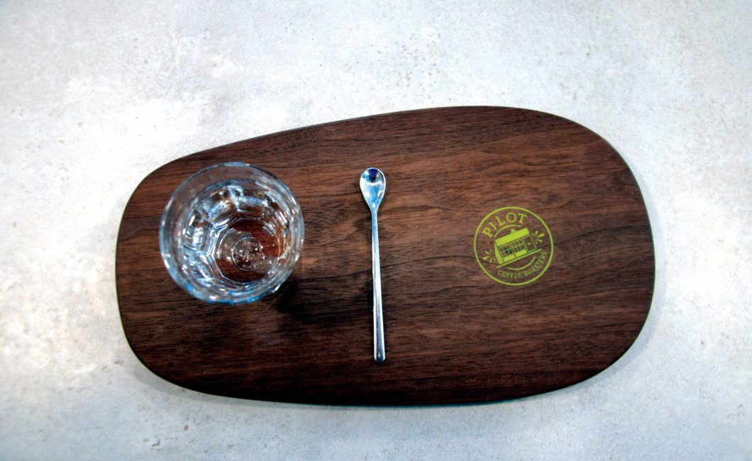 Pilot Coffee Roasters tray