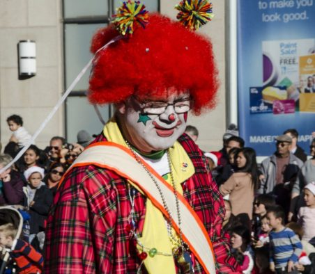 Clowns, clowns and more clowns!