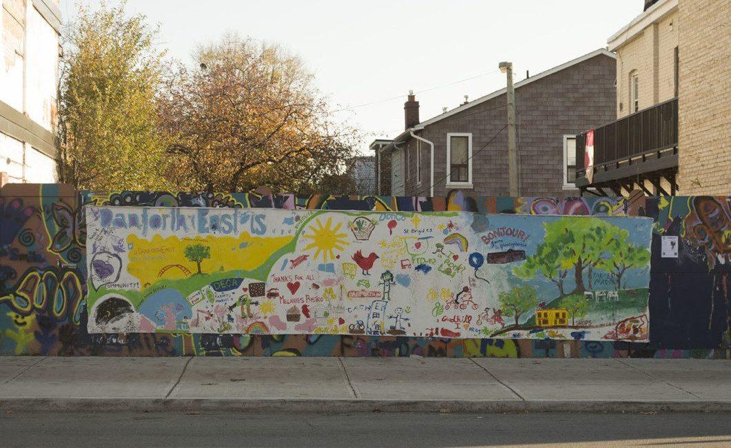 Danforth East Mural