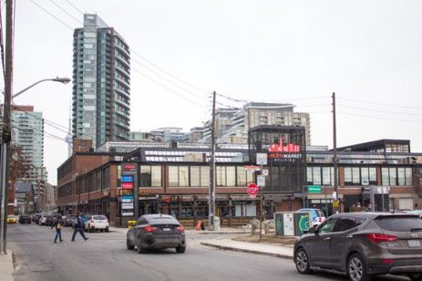 The Liberty Market, home to office, design, and retail space.