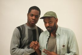 Jae Lejit meets Juno award winning artist, Shad, at Branded: Youth Entrepreneur Marketing Conference