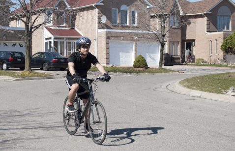 Activities like biking can improve an individual's health and mood.