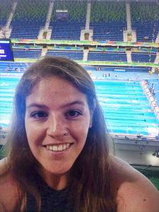 Holly Mcneill in Rio