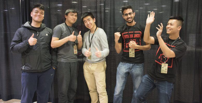 Michael Nguyen, Andy Tran, Kevin Shi, Haris Chaudhry and William Lam