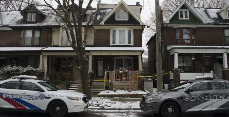 Scene of east end shooting.
