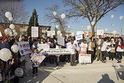 Peace Walk participants