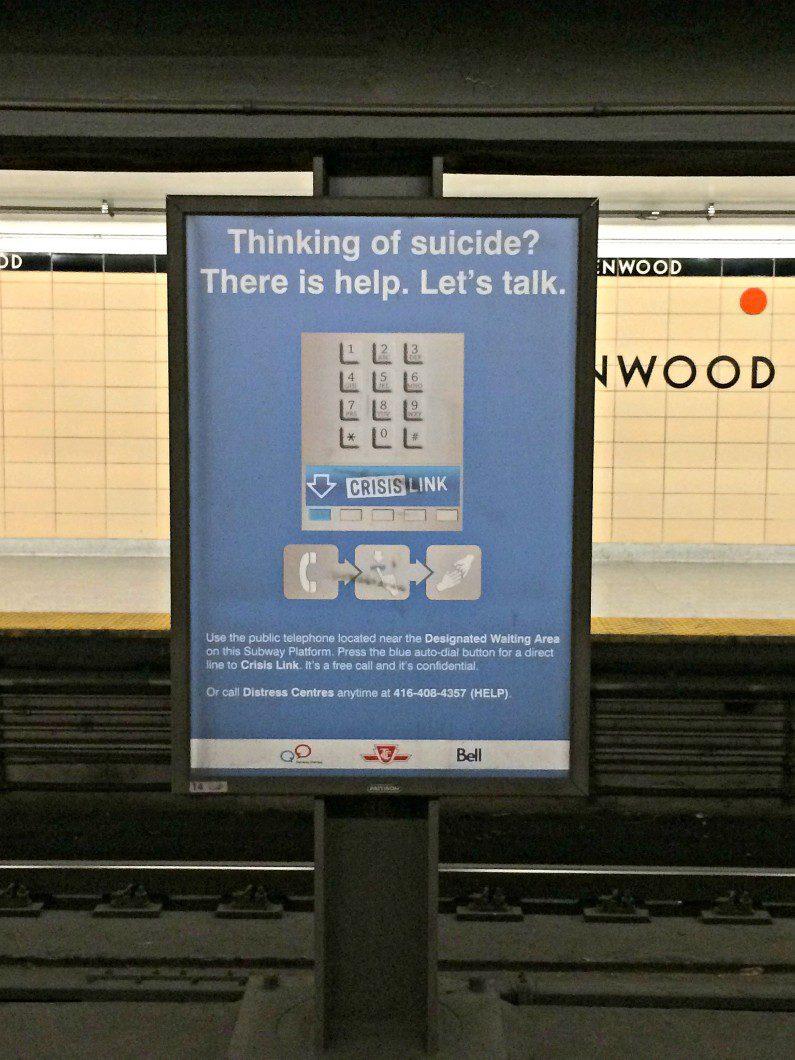 Distress help poster