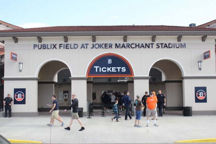 exterior of Joker Marchant Stadium