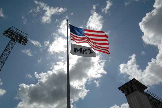 American and Mr. I flags
