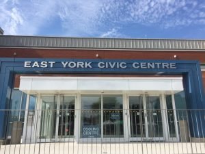 Photo of exterior of East York Civic Centre