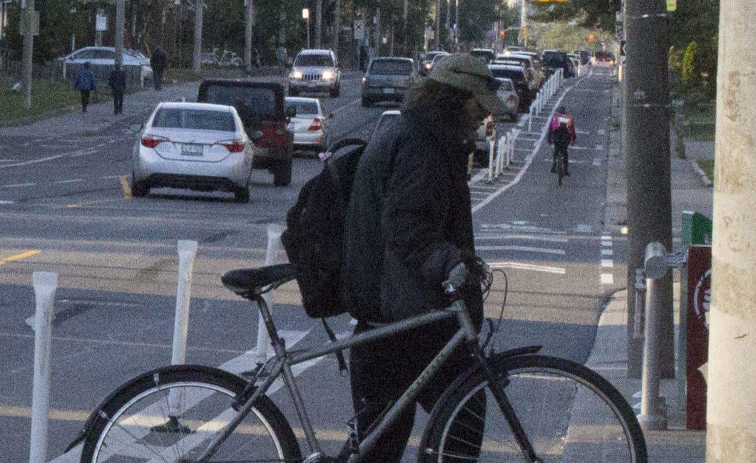 Woodbine bike lanes