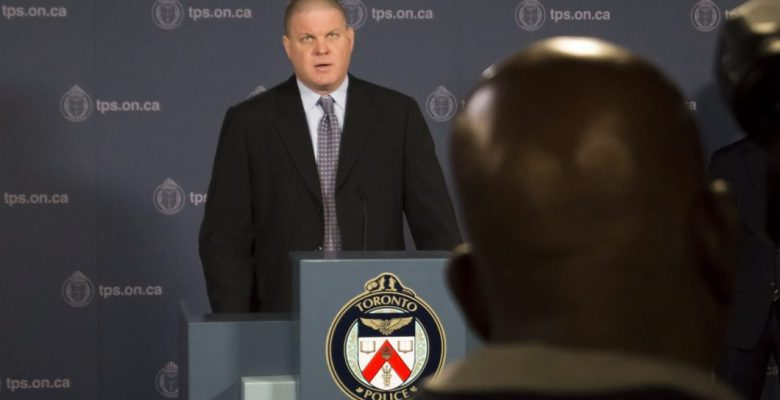 Detective Sergeant Hank Idsinga at a press conference in Toronto police headquarters, announcing more information in the investigation of alleged serial killer Bruce McArthur.