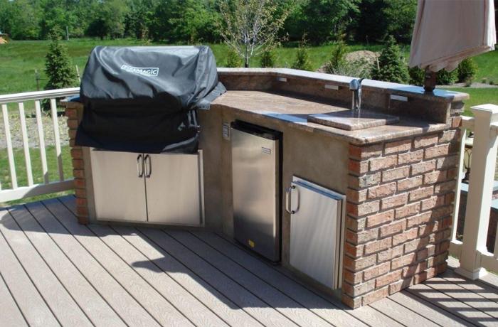 Toronto outdoor kitchens for Cheap kitchen cabinets brampton