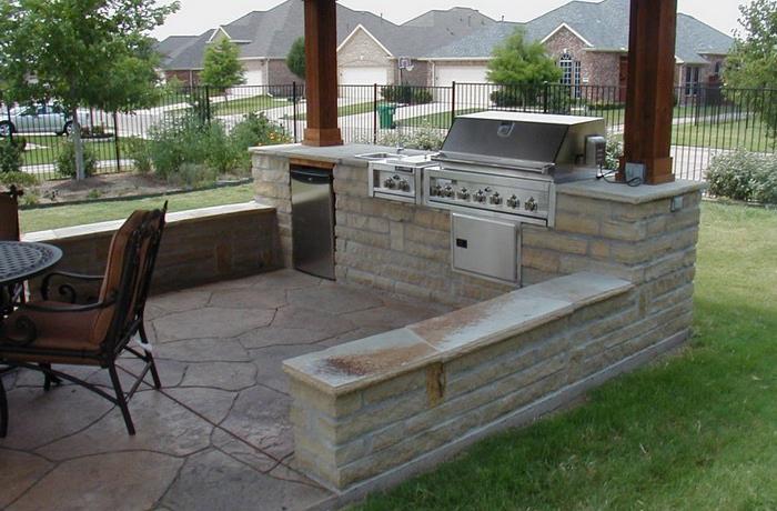 Discount Outdoor Kitchen 11