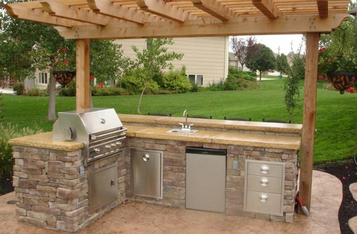 Discount Outdoor Kitchen 9