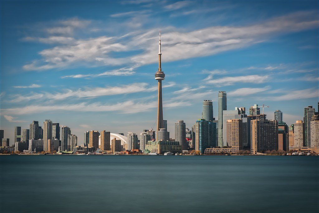 Toronto Skyline at Centre Island
