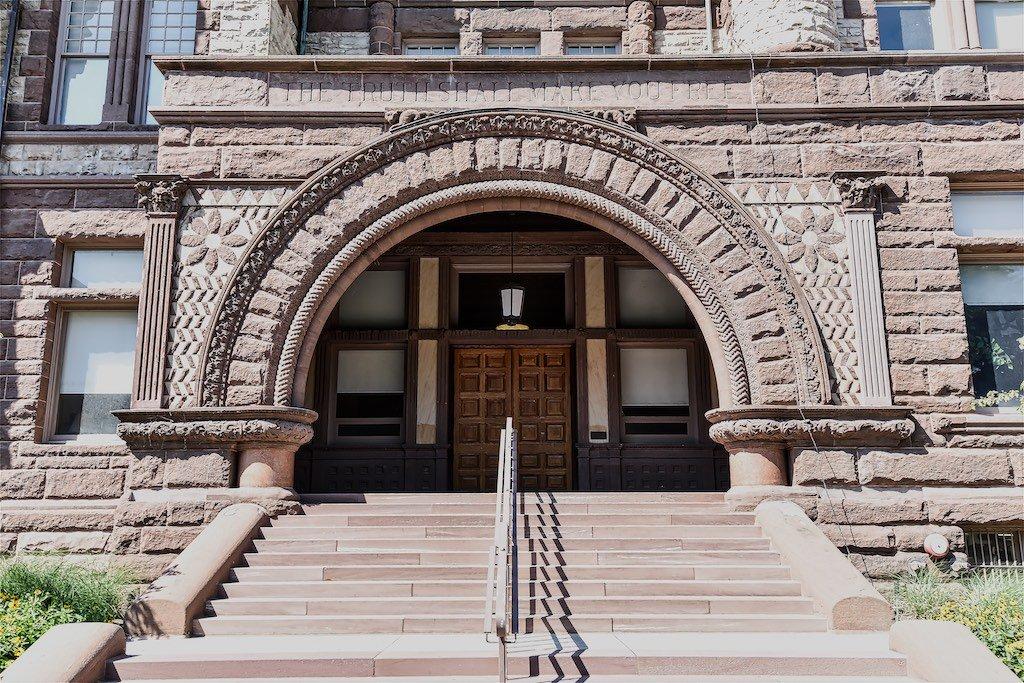 Victoria College Entrance