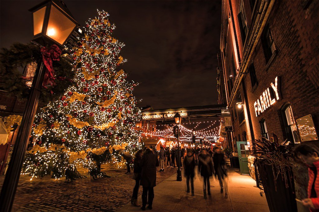 Christmas Market at Distillery District
