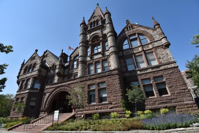 University of Toronto's building