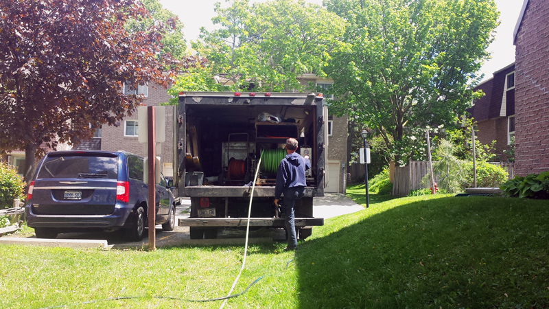residential home hydro jetting
