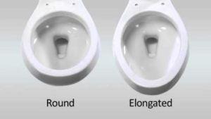 round vs elongated new toilet