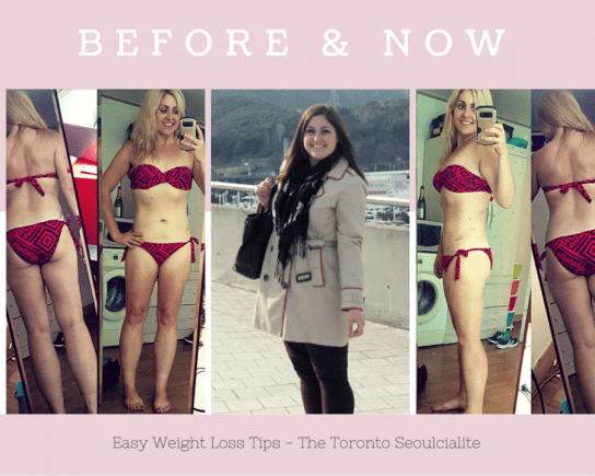 Easy Weight Loss Tips - The Toronto Seoulcialite
