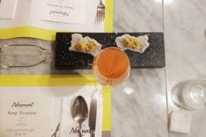 Amuse Bouche Ankimo Monkfish Japanese Foie Gras Normal by Ryunique Garosugil Seoul Korea Restaurant Food Wine Review Toronto Seoulcialite Cremant de loire