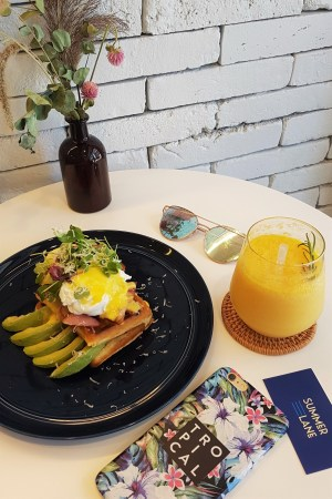 Menu Summer Lane Best Brunch Seoul Korea Eggs Benedict Itaewon Kyungridan