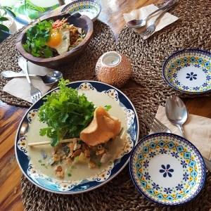 Nasi Goreng Chicken Padang Ayam Green Curry Bali in Mangwon Restaurant Balinese Food Seoul Hongdae Toronto Seoulcialite