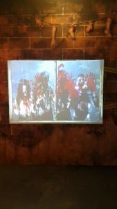 Trick Eye Museum Seoul Korea Winter Exhibit Zombie House
