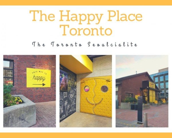 The Happy Place Instagram Toronto Queen's Quay