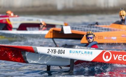 Solar boats racing