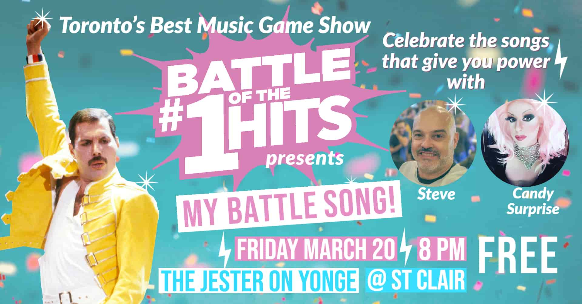 Battle of the #1 Hits Live at The Jester on Yonge