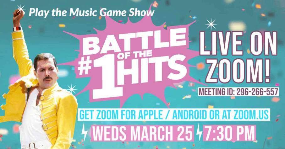 Battle Songs Live on Zoom