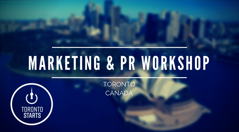 Marketing & PR Workshop with The Startup Coach