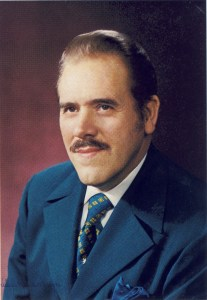 Mark Prophet in Blue Suit