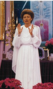 Mother at Altar