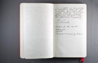 Journal Reflections: Elizabeth Ruth