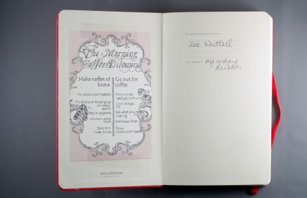 Journal Reflections: Zoe Whittall
