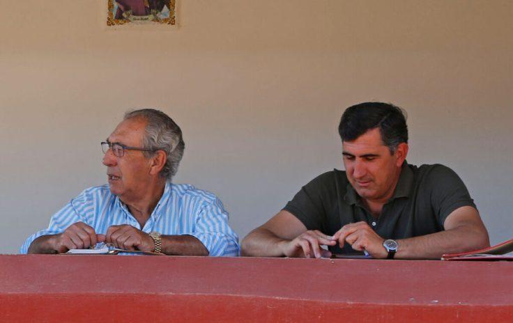 Francisco Domínguez Camacho y su hijo David Domínguez Chacón. Foto Arjona