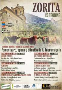 TOROS ZORITA 15 AL 30 DE OCTUBRE