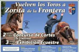 TOROS ZORITA DE LA FRONTERA 2 Y 3 OCTUBRE 2021