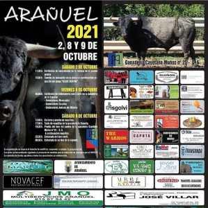 TOROS ARAÑUEL 2, 8 Y 9 DE OCTUBRE