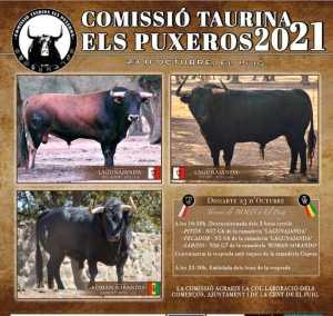 TOROS EL PUIG 23 OCTUBRE 2021