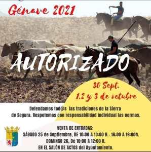 TOROS GÉNAVE 1, 2 Y 3 OCTUBRE 2021