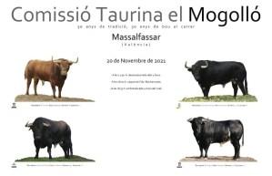 TOROS MASSALFASSAR 20 NOVIEMBRE 2021